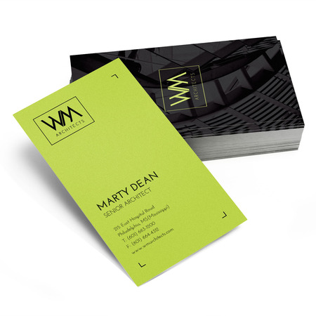 Standard business card printing rectangle slim or square uprinting standard business card printing reheart